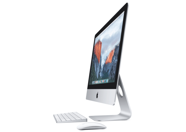 The 4K iMac comes with Apple's new Magic Mouse 2 and Magic Keyboard.