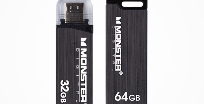 Coming in 32 and 64 gigabytes, this 2-pack of metal-sheathed USB storage drives are built to last.