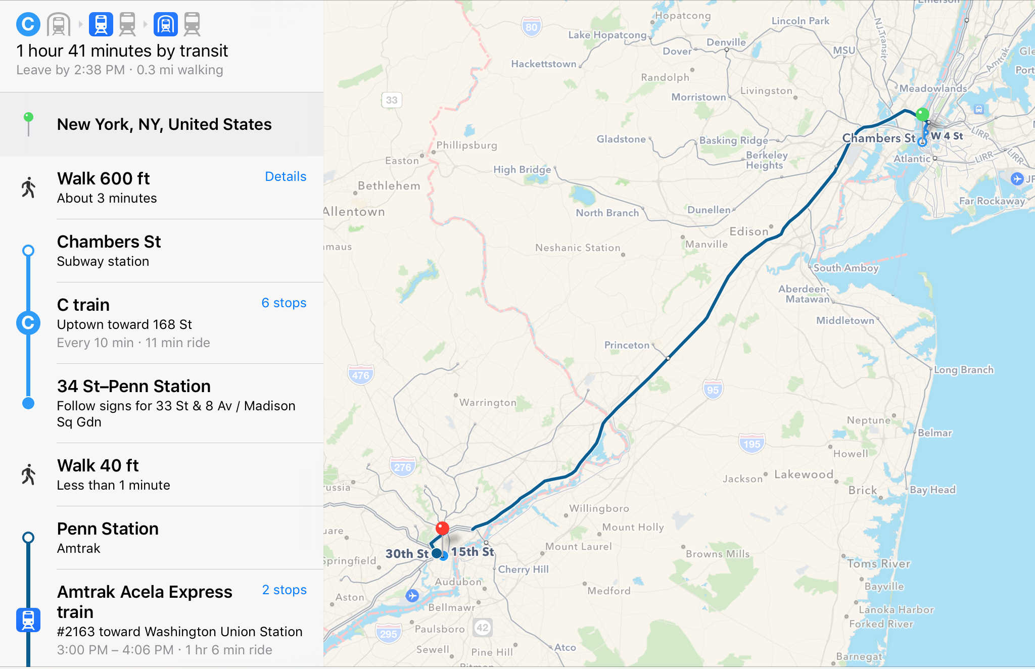 Apple Maps trains its eye on Amtrak routes, Boston transit ... on