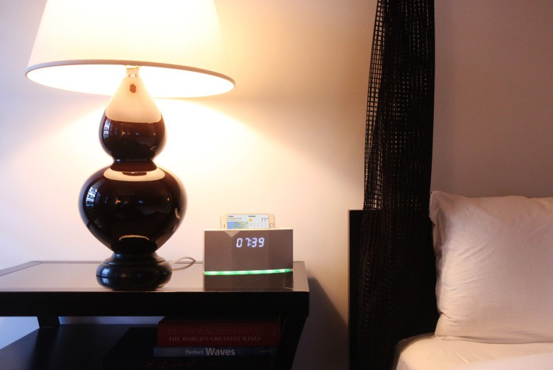 The Beddi smart alarm clock has a host of functions. Waking you from sleep is just a start.
