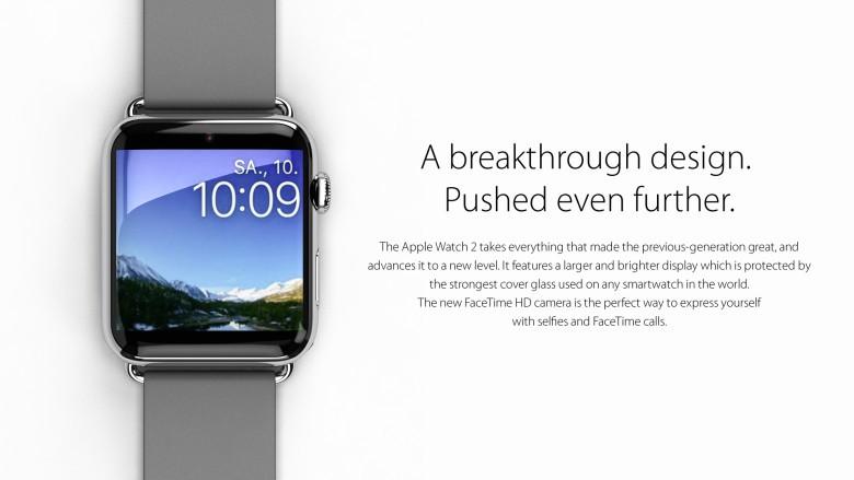 Apple Watch 2 concept by Eric Huismann