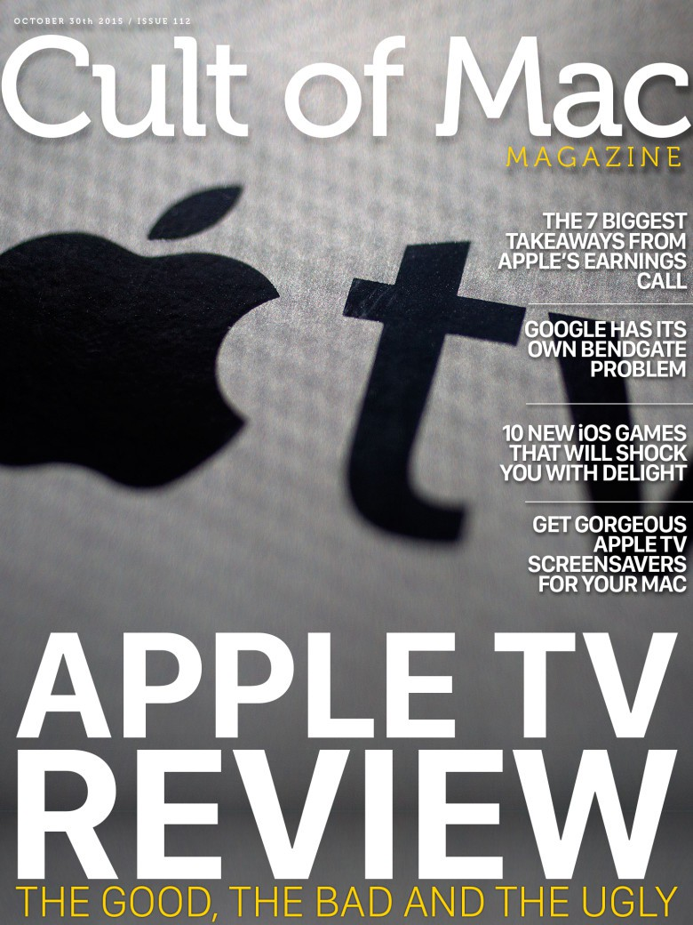 We've got your Apple TV review right here, baby, yeah.