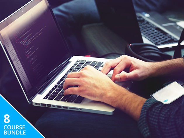 Step up your coding game or start from scratch with this bundle of 8 lessons.