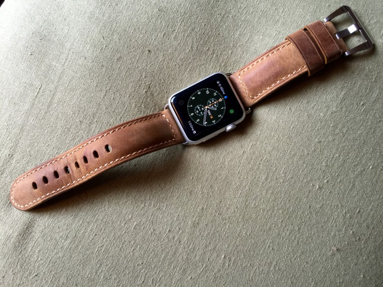 This leather strap will class up your wrist.