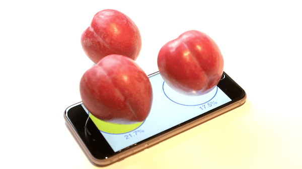 New app lets you weigh your plums on your iPhone 6s