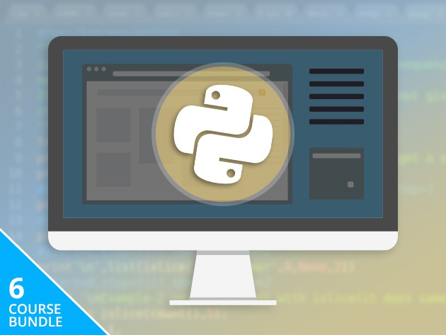 This bundle of six courses will provide a complete foundation and advanced command of Python, one of the most widely-used coding languages.