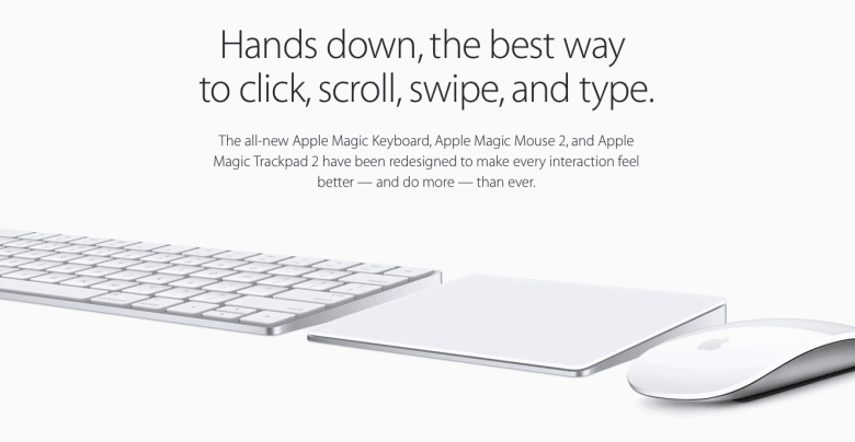 Magic Keyboard Magic Mouse 2 And Magic Trackpad 2 Are Absolutely