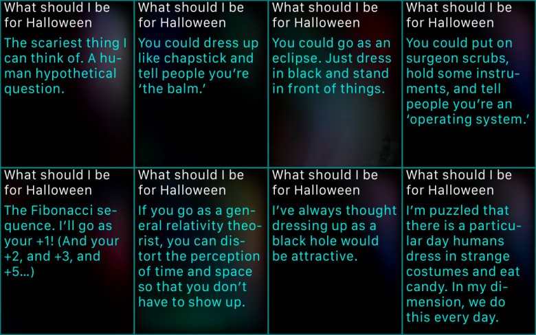 Siri-Halloween