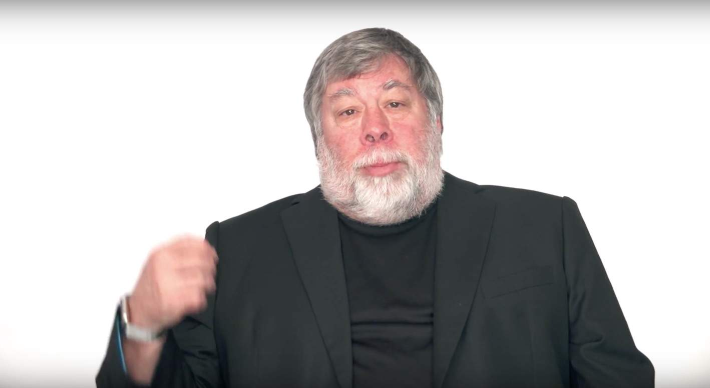 The Woz tells it like it is.