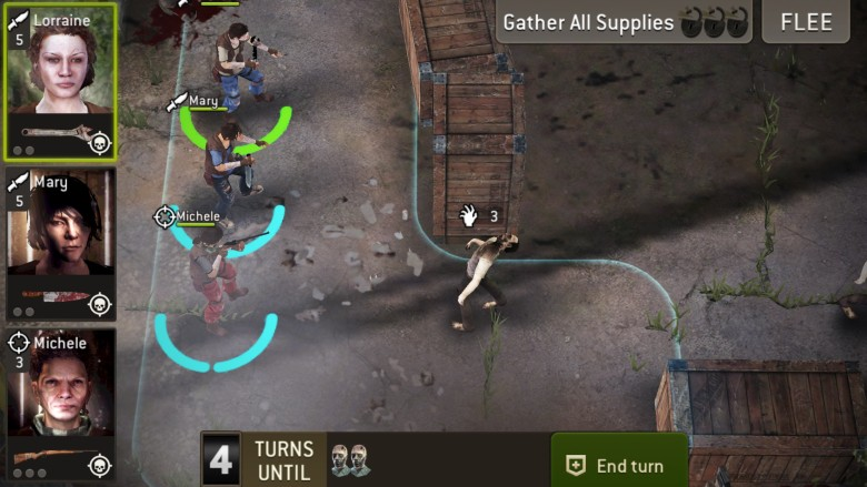 Strategic and compelling; The Walking Dead: No Man's Land will keep you killing zombies all night long.