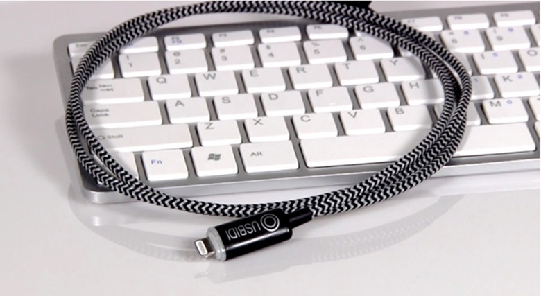 The UsBidi charger for smartphones and tablets.