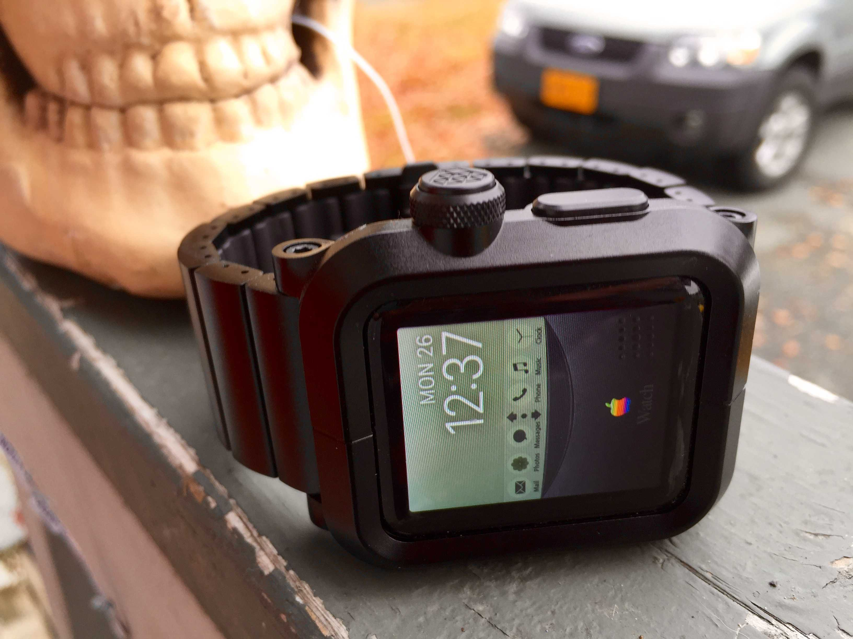 Put your Apple Watch inside an Epik case and it'll be protected (and super-sized.)