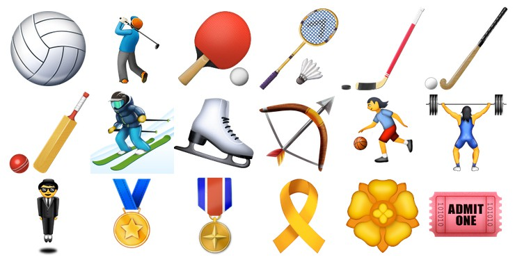 iOS 9.1 Activity emojis
