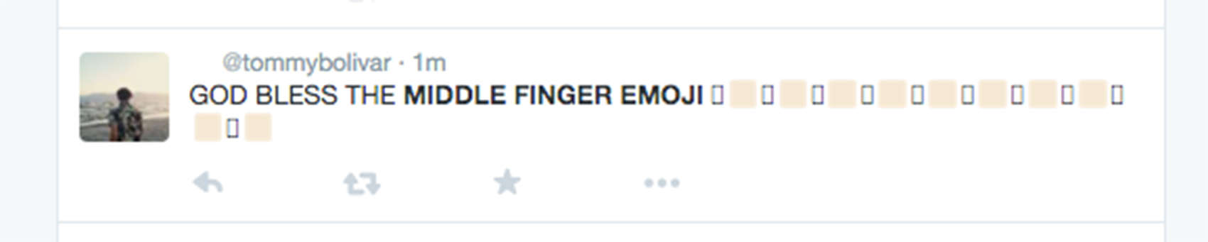Twitter flips out over Apple's new bird-flipping emoji