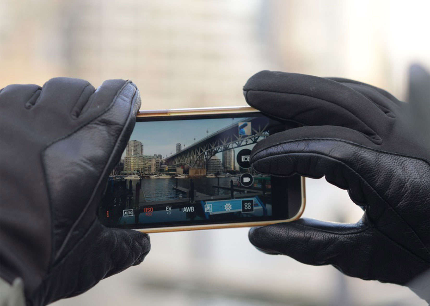 Nanotips will let you use your touchscreens in cold weather without having to remove your gloves.