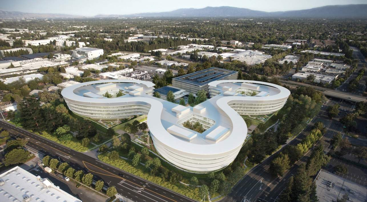 Yet another innovative building planned for Apple.