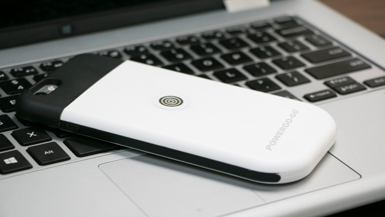 The PowerGo-Go magnetic charging starts with a bumper case that connects to a cable or charging cradle.