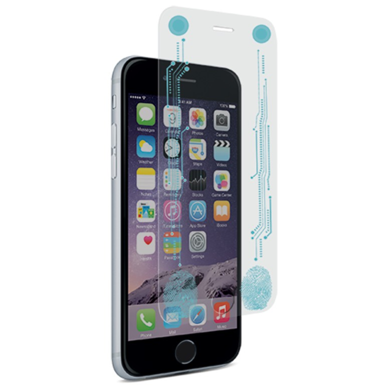 The Smart + Buttons tempered glass protector from PureGear.