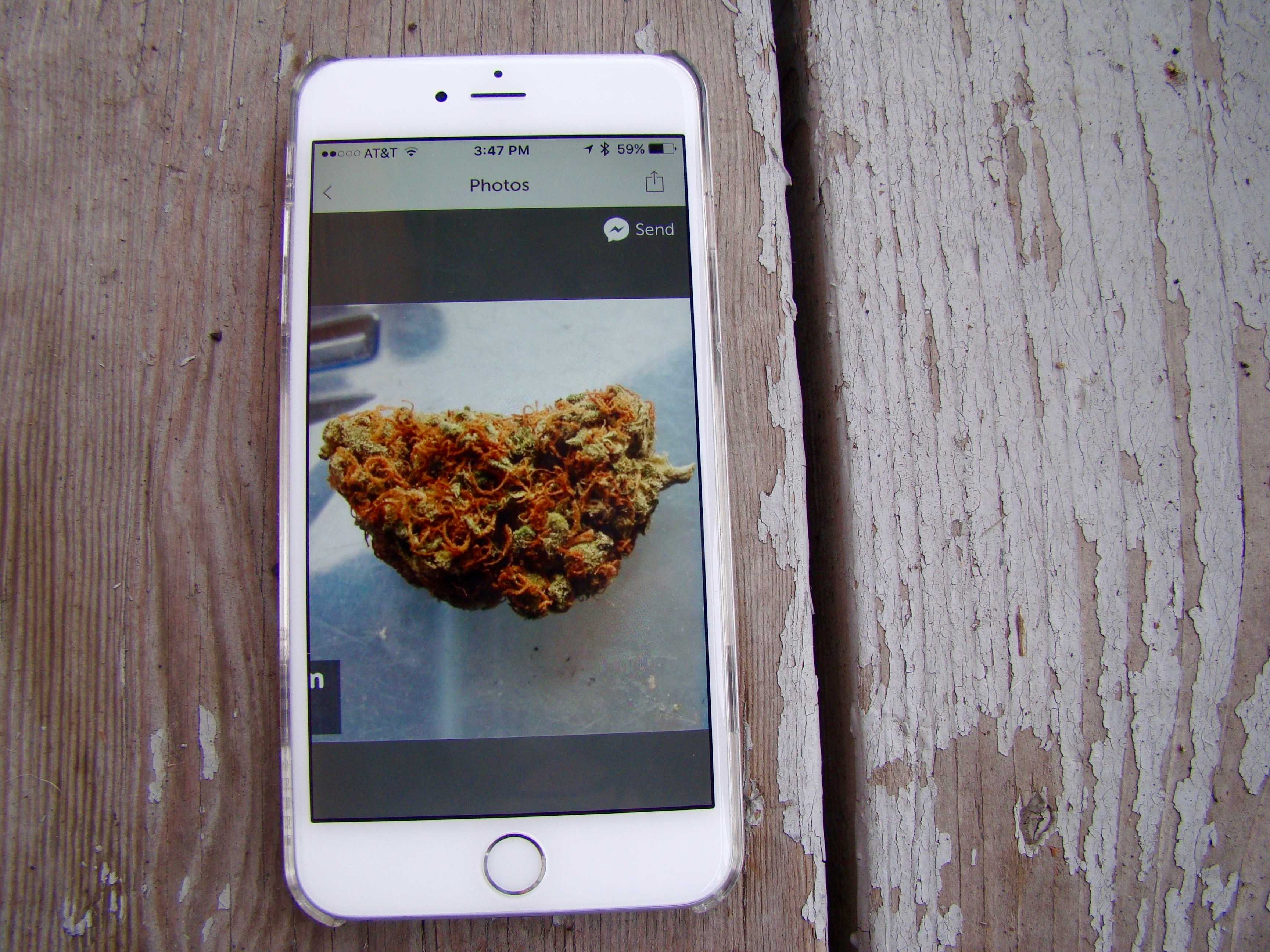 Now that marijuana is  legal in many spots around the U.S., pot apps abound.
