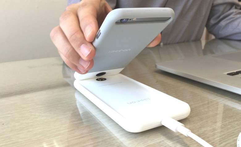 The XI.i.CON is a case-dock charging combo for the iPhone 6, 6 Plus, 6s and 6s Plus.