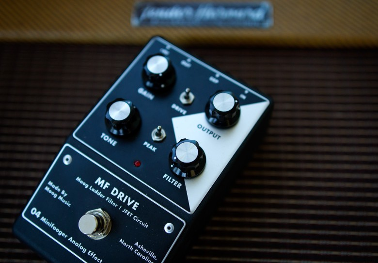 Moog's MF Drive packs a lot of sonic punch in a small package.