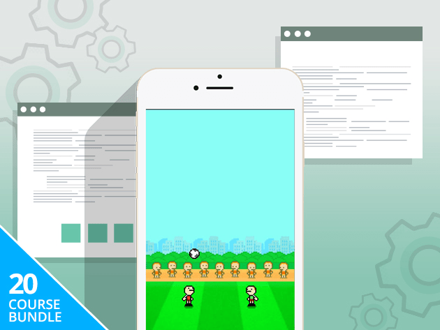 Learn the secrets of game development by actually building 20 games in a variety of styles.
