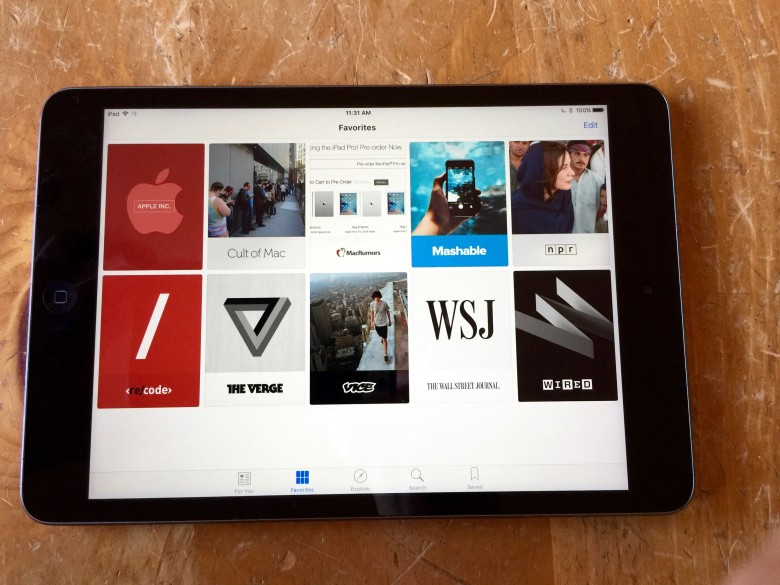Apple News app helps you curate your own special news diet.