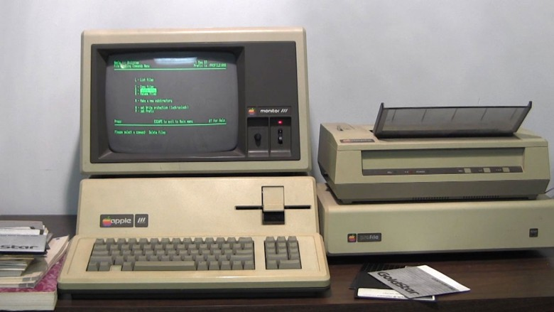 This Apple III Plus still works after spending the 1980s scheduling yoga classes at a spiritual retreat center.