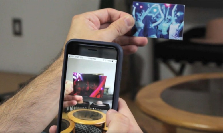Point your phone at a LifePrint print and watch the moment in motion.