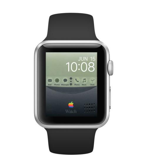 Newton Apple Watch