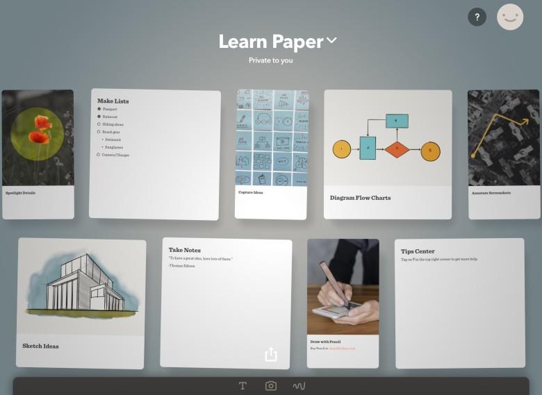 Paper training