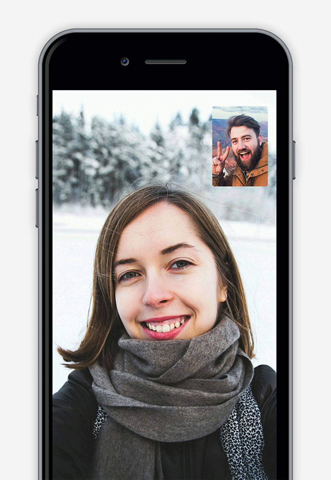 Video calls are clear with servers positions around the world to provide a stable connection.