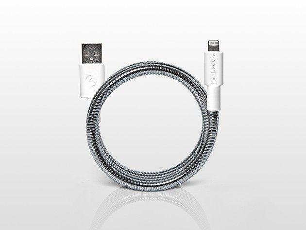 The Titan MFi-Certified Lightning Cable is tough as nails and built to outlast us all.