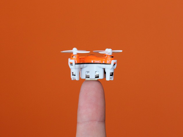 The AERIUS Drone is as small as they come, but just as much fun as the big birds.