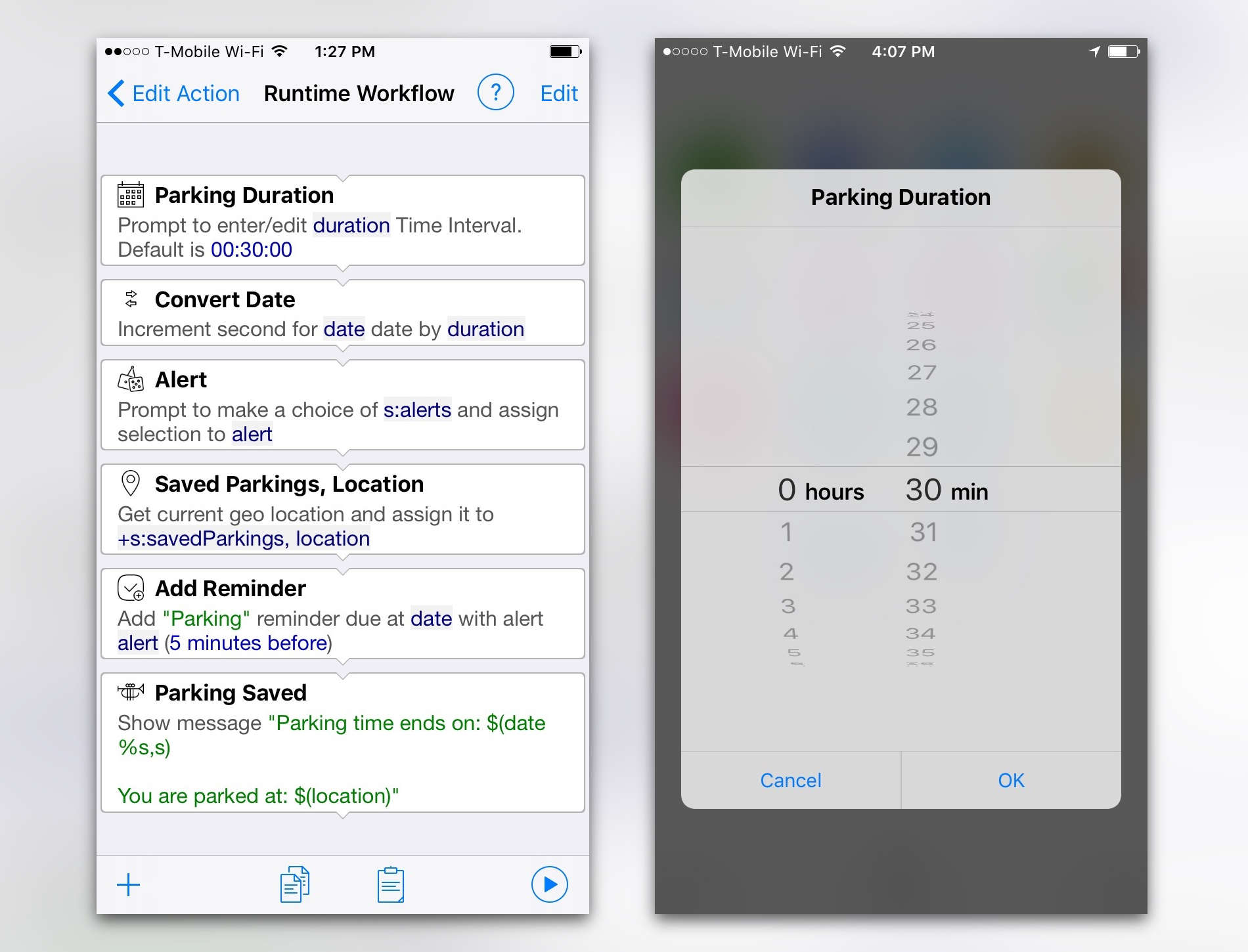 Let Alloy turn your frequent iPhone tasks into apps
