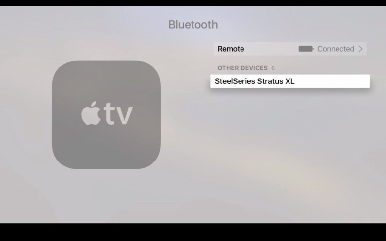 Gaming on Apple TV is gonna be huge.