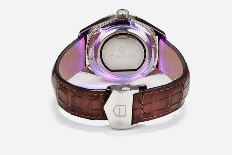 The Chronos disc can bring smartwatch powers to any watch.