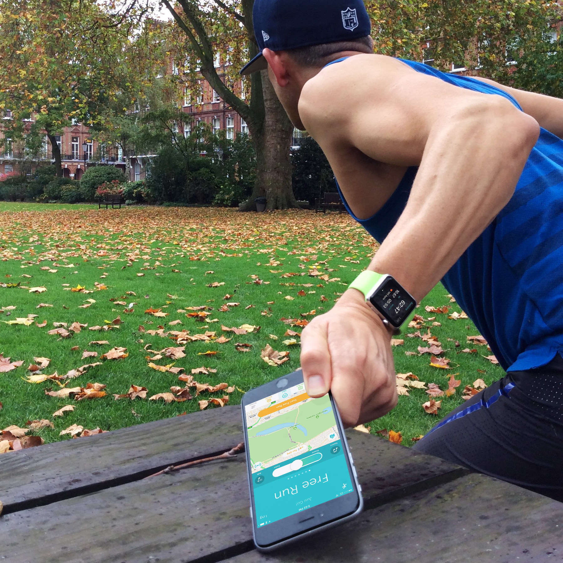 Don't leave me this way - Apple recommends you take your iPhone with you on a run