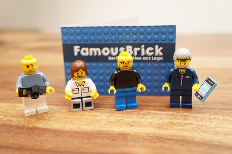 Custom Lego minifigs put Jobs, Woz, and Cook on your desk