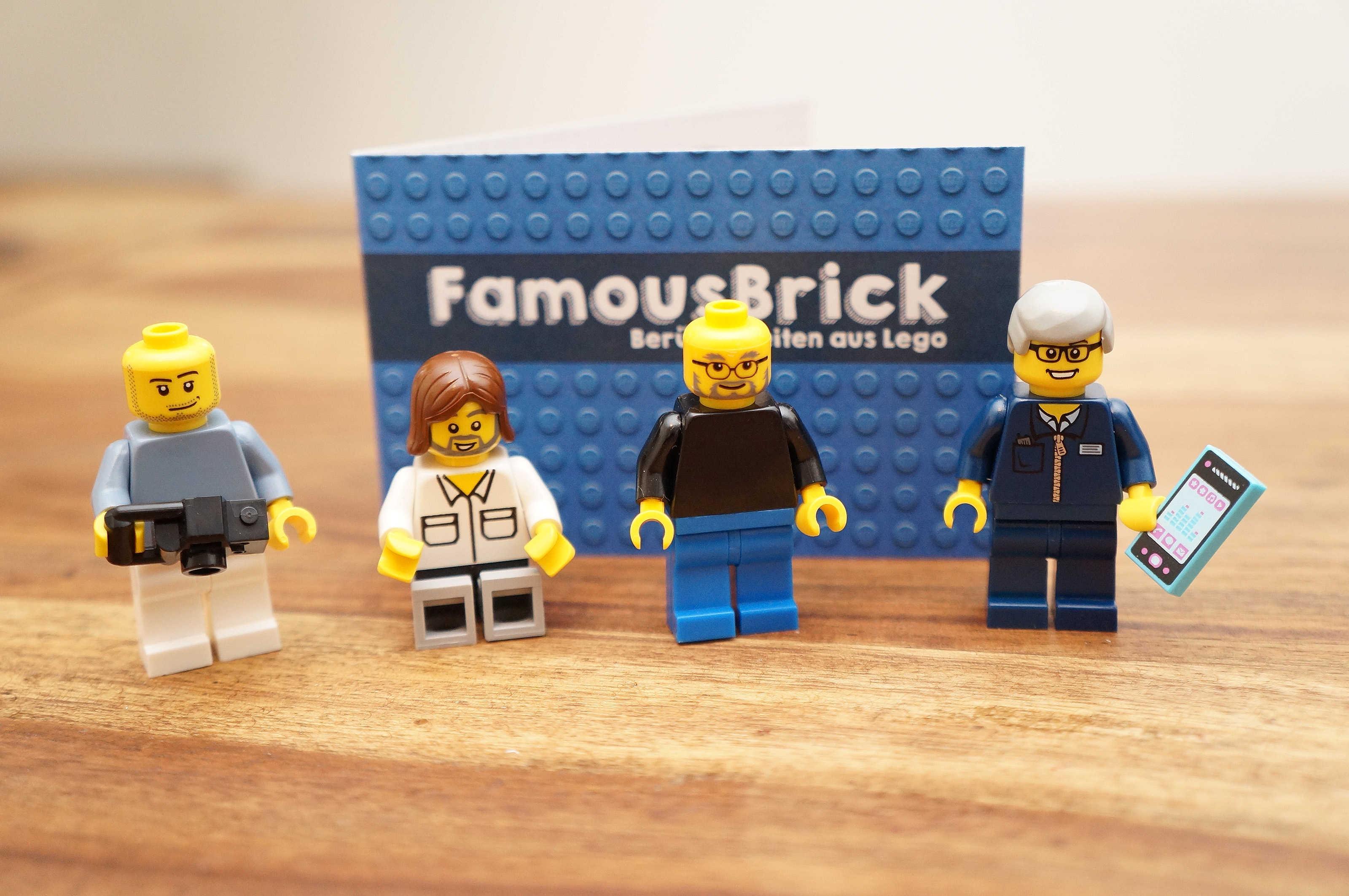 Apple custom Lego minis