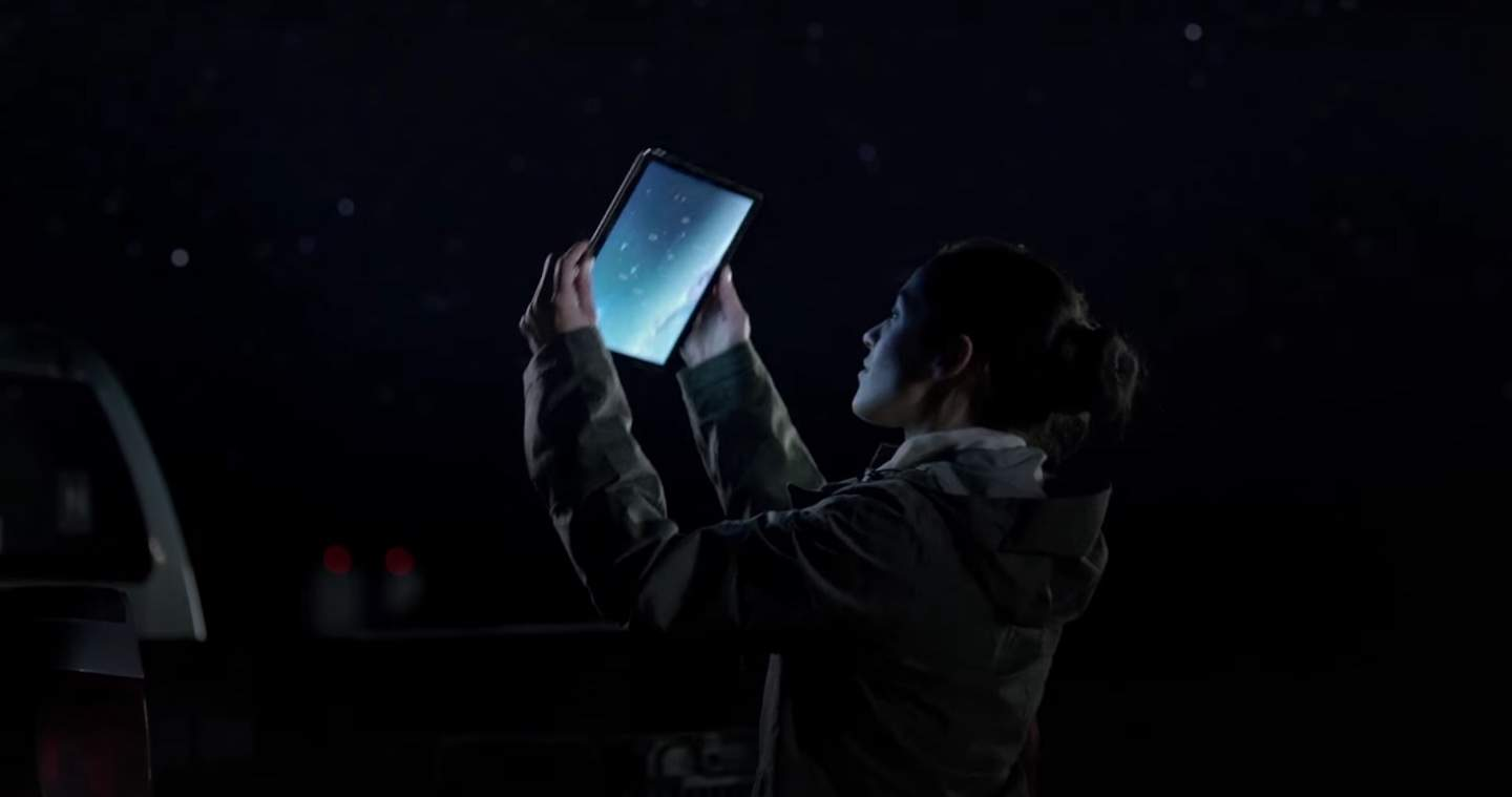 The first iPad Pro ad is cosmic..