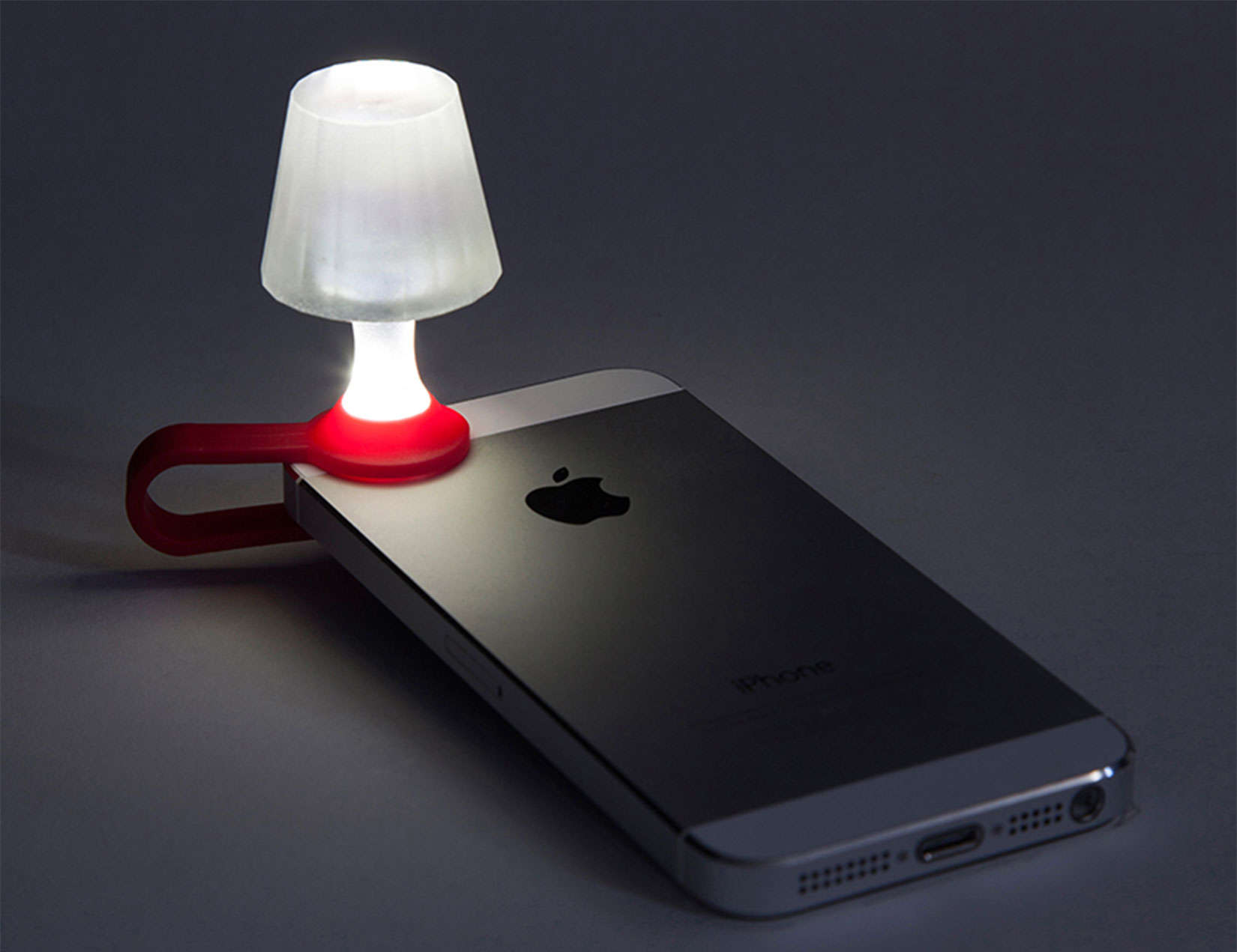 Read By The Light Of Your Iphone With This Quirky Clip On
