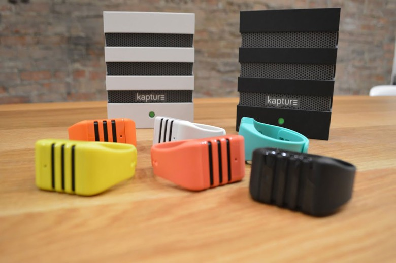 Kapture puts an omnidirectional mic on your wrist.