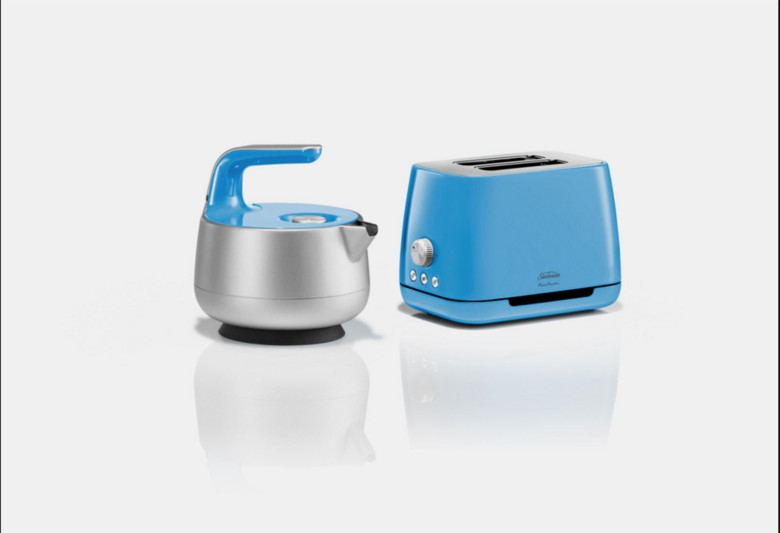 Industrial designer Marc Newson designed a teapot and toaster for Sunbeam.