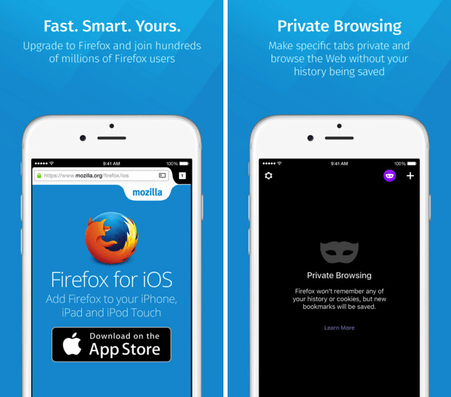 Firefox has finally made it to iOS.