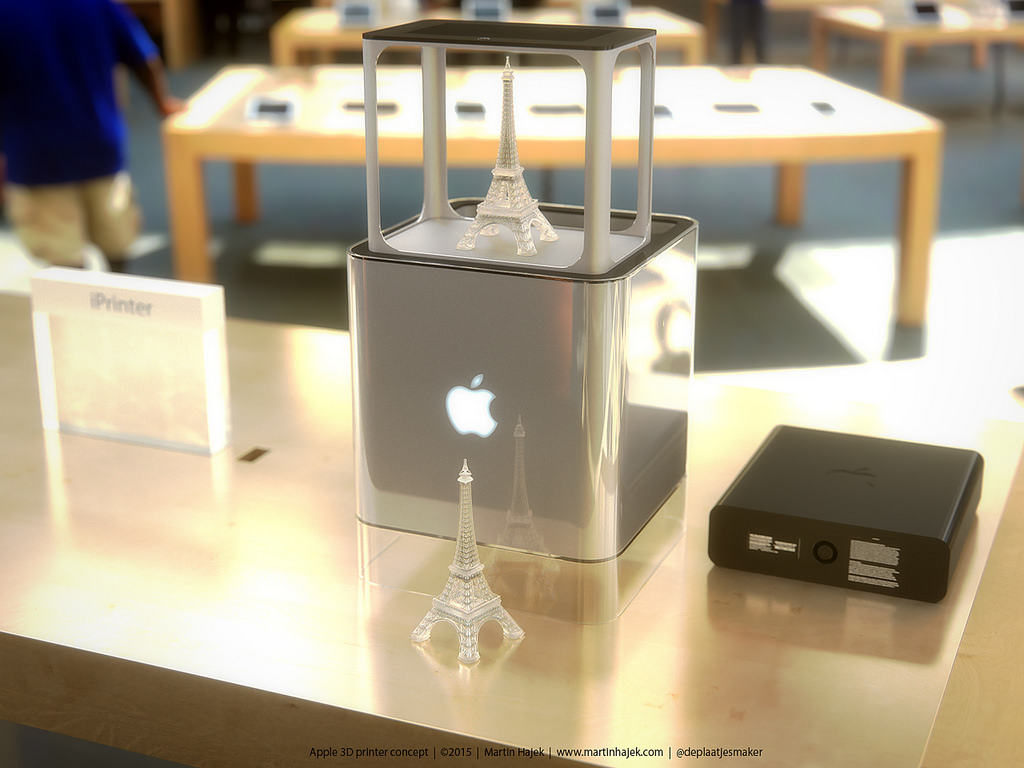 Is this what Apple's 3-D printer will look like?