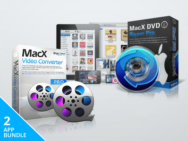 Convert all your DVDs and other video files into formats that work great on Apple and Android devices.