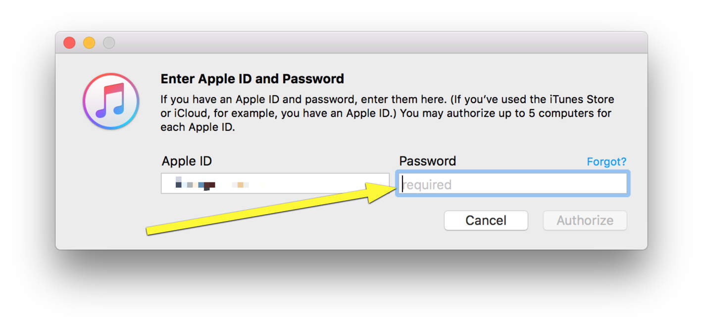 Get iTunes to stop asking you to authorize your Mac | Cult