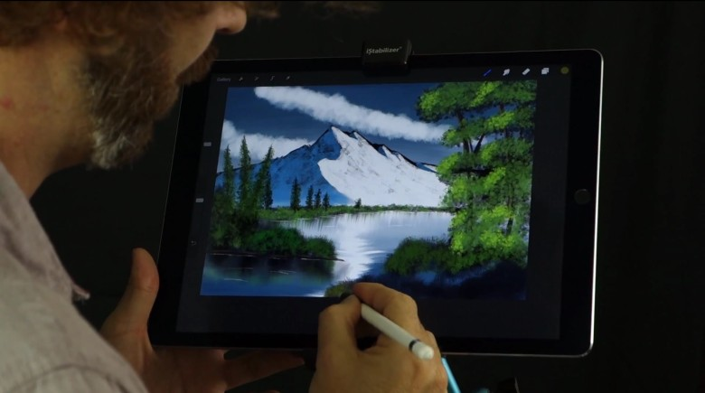 iPad Pro painting