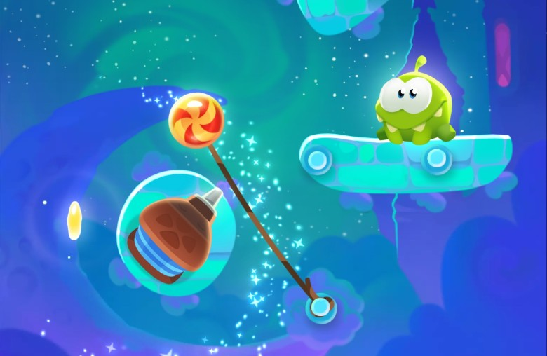 Cut the Rope Magic December iOS games